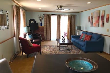 Modern quiet country condo close to all activities