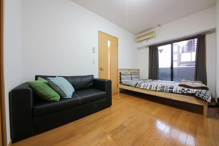 4 mins Yushima St/Close Ueno,Akihabara/Free WiFi - Bunkyō-ku - Apartament