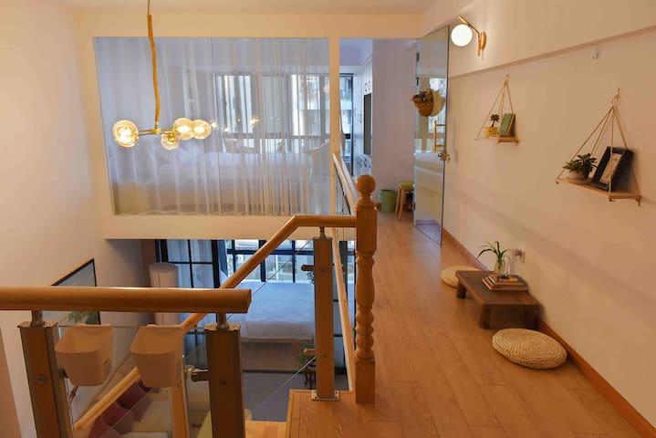 所悠家之新安江畔loft清新江景公寓