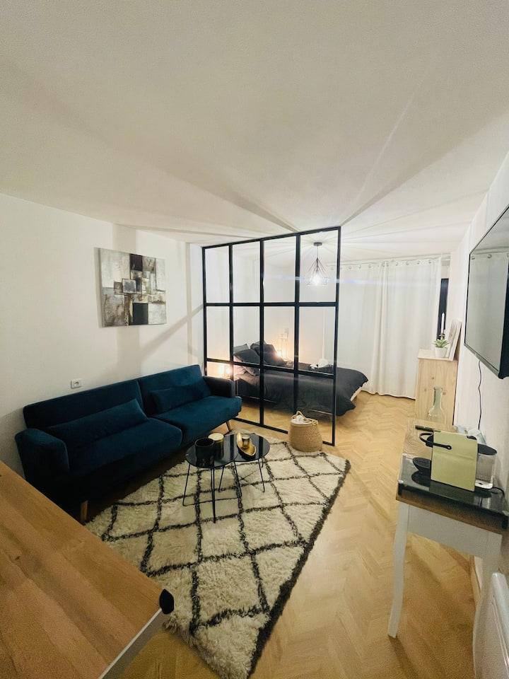 Nouveau : votre studio cocooning quartier gare !