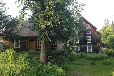 19th Century Bohemian Barn House