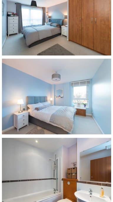 Ensuite and double Bedroom.