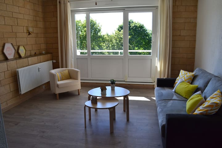 Newly refurbish apartment close to Basel & Germany - Huningue - Apartamento