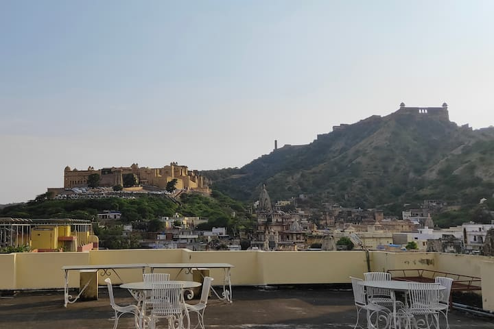 Amber Fort View - with Breakfast.
