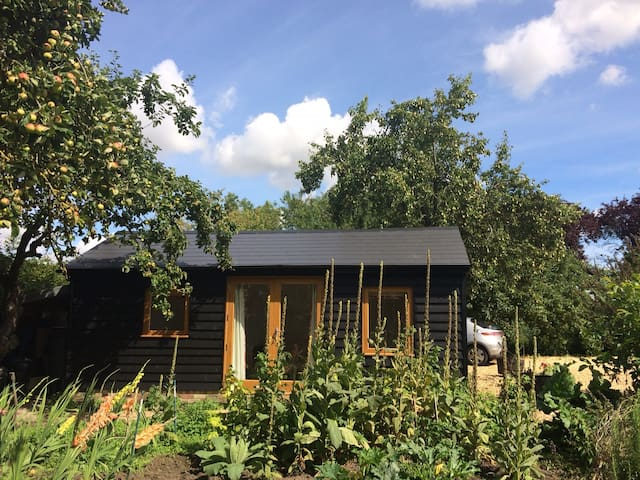 Self-contained barn conversion near Cambridge