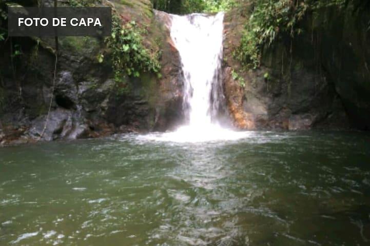 Chalé Jatobá c/ Cachoeira (Wi-Fi)