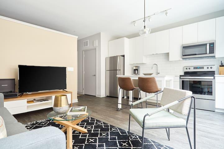 Sonder   Luna Apartments   Airy 1BR + Rooftop