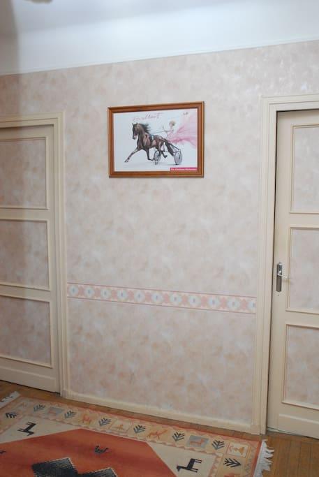 Entrée appartement 77 m2