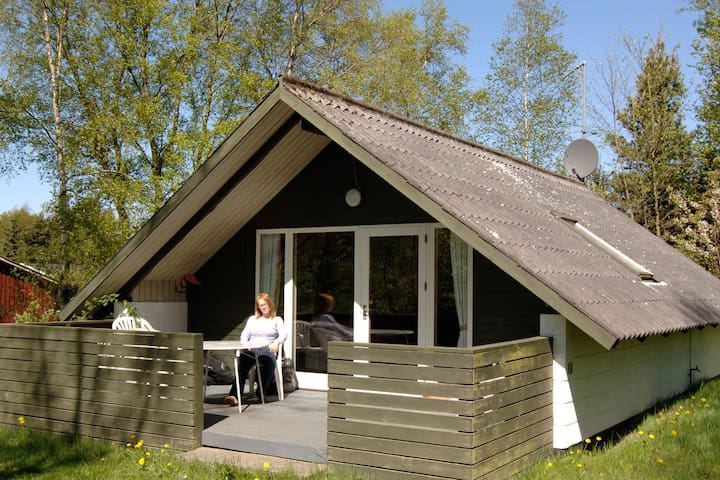 4 person holiday home in Glesborg