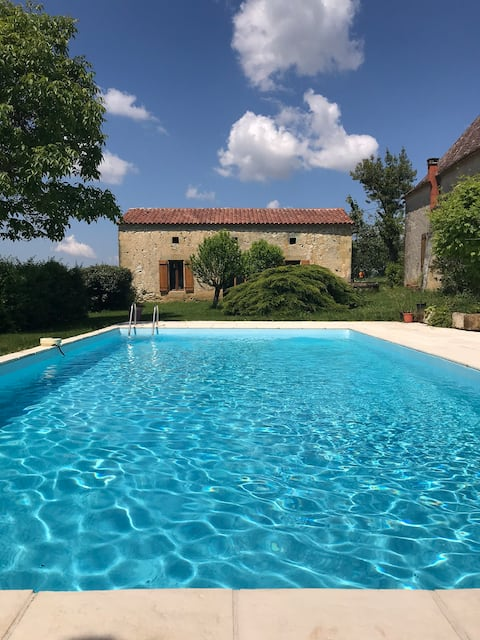 Gite fons with Private Heated pool