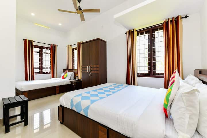 CENTER HOME- ENTIRE PLACE @ FIRST FLOOR WAYANAD
