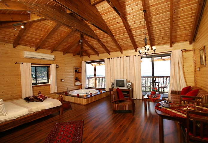 Extraordinary Suite - View to the Hermon mountain