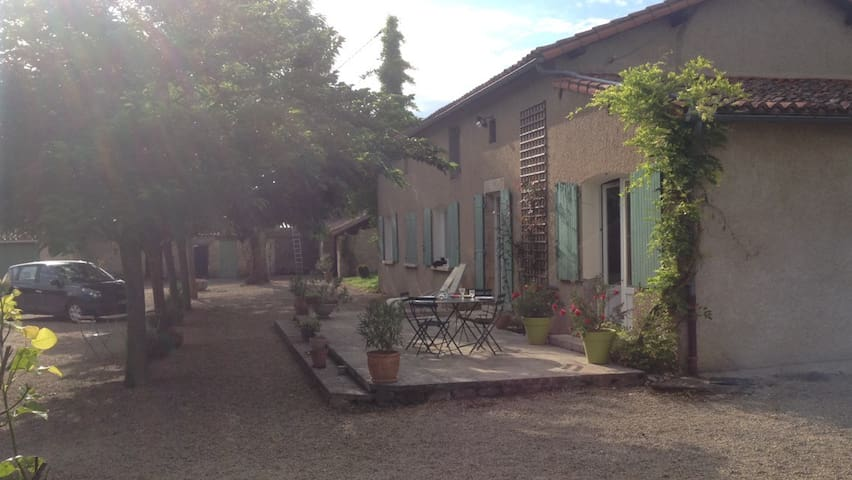 Chambre 38m2 maison de campagne, confort et calme - Saint-Maurice-la-Clouère - Bed & Breakfast