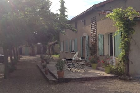 Chambre 38m2 maison de campagne, confort et calme - Saint-Maurice-la-Clouère - Inap sarapan