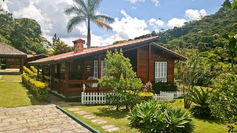 Wooden house | Comfort in Rio de Janeiro Mountains
