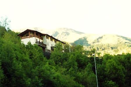 Mountain  Alps house  lovely view , bike´s sport. - San Colombano - Haus