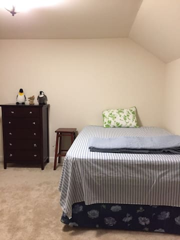 Good Dream Space with the Wifi& Gym - Gaithersburg - Rekkehus