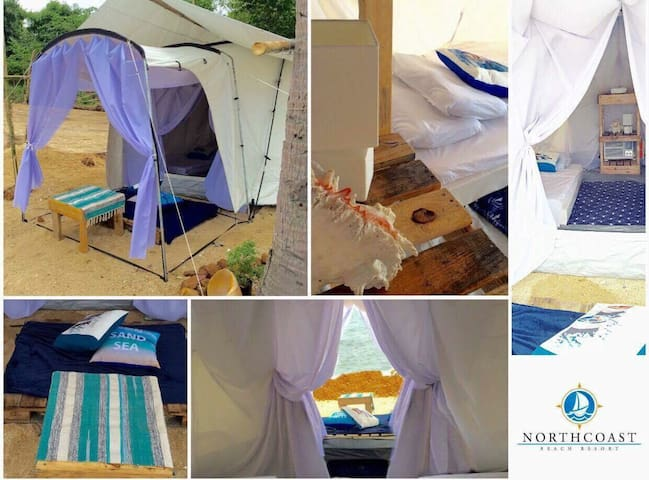 Glamp 1 @ North Coast Island Resort (4 pax max)