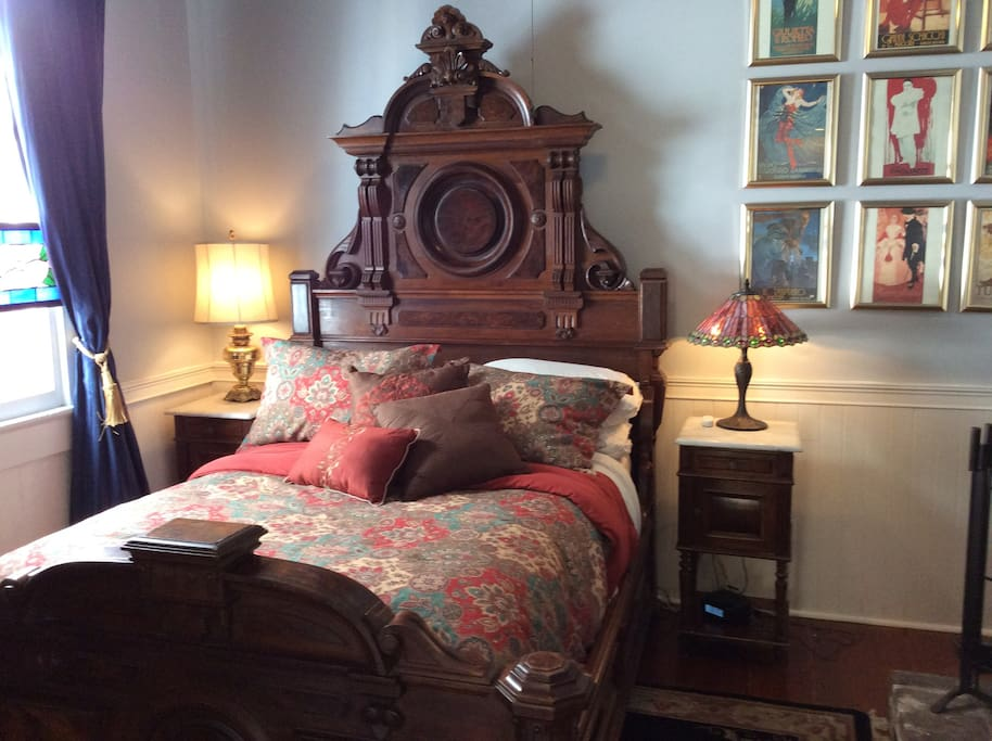 "Germaine Wells ""The Countess Arnaud"" Historic Double Bed from Her Personal Collection"
