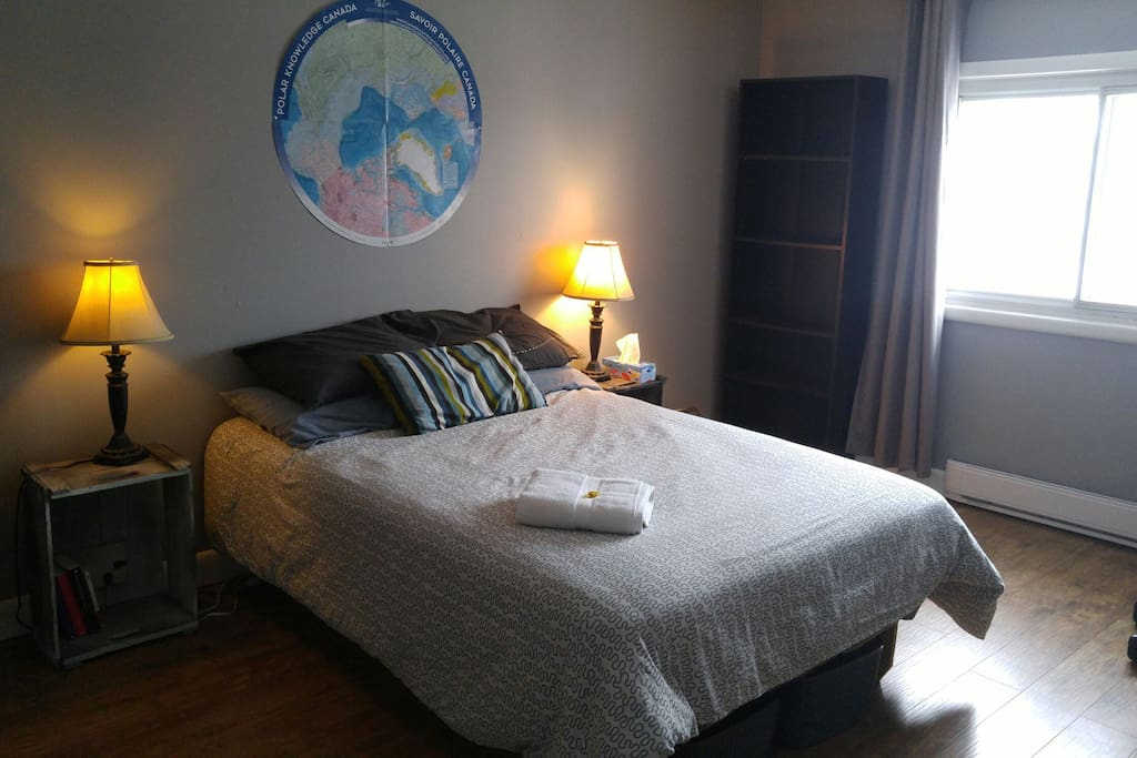 Spacious Bedroom Near Downtown Ottawa Apartments For