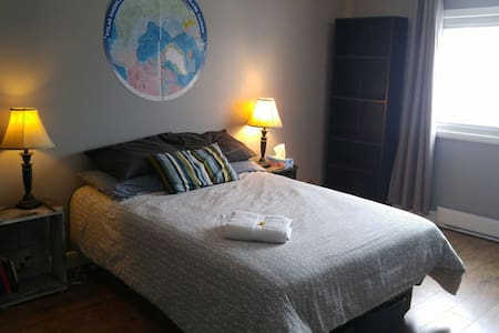 Spacious bedroom near downtown Ottawa