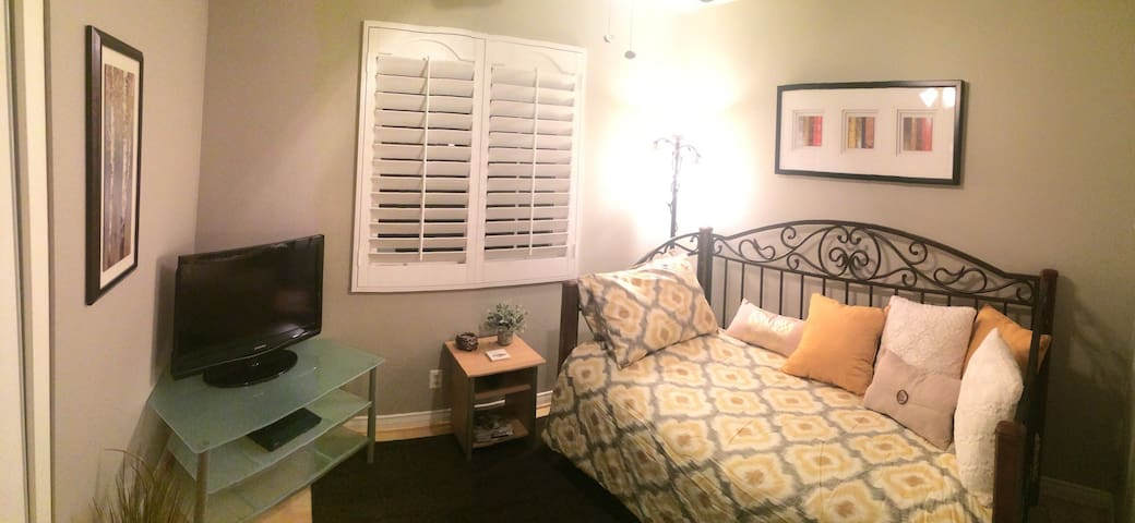 Cozy Private Room in Nice Quiet Home - Rancho Cucamonga - Casa