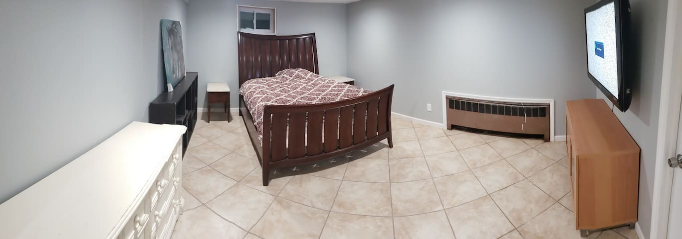 Brand new Bedroom and private bathroom