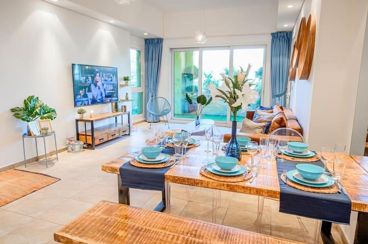 3 Bedroom Garden Residence @ the Palm Marina