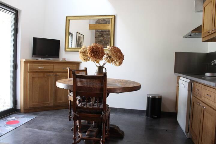 studio des près gîte à 20 mn du Mont Saint Michel