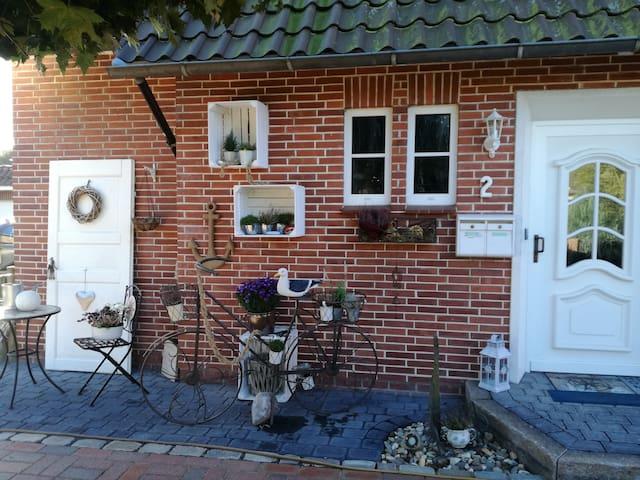 Möwennest gemütliches Zimmer mit Duschbad - Deinste - Casa