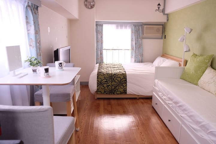 New!!6-min★ walk from Shin-Osaka Station/Free WIFI - Yodogawa-ku, Ōsaka-shi - อพาร์ทเมนท์
