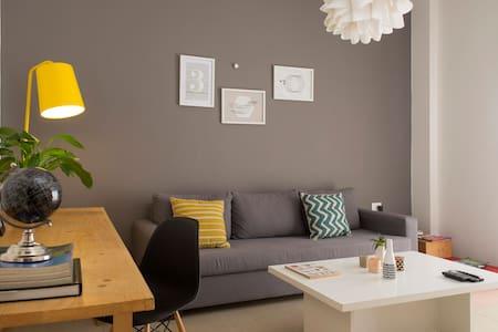 Bright Mar Mikhael Apartment (4L) - Bejrút - Lakás