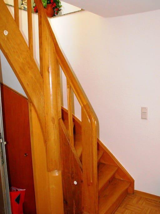 Eingangsbereich / Flur / Treppenhaus / Entrance area / hallway / staircase