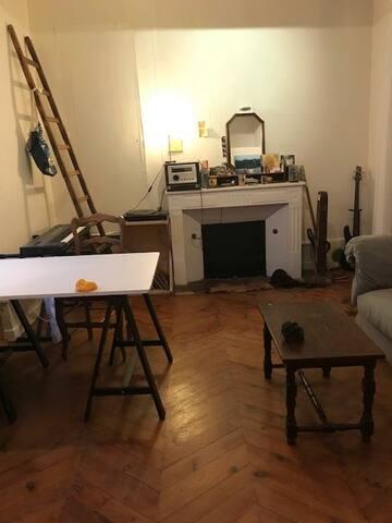 Appartement chaleureux et cabane marsupiale