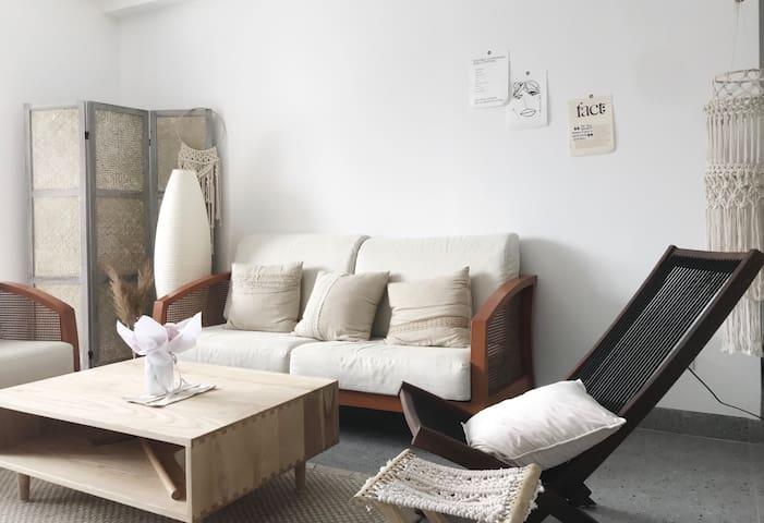 [嗨]素茧-回归自然色系 漳州芗城区市中心整套套房