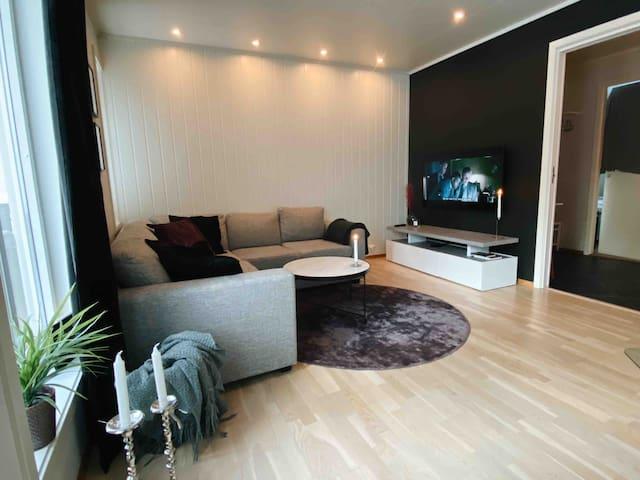 Moderne leilighet 10min fra sentrum