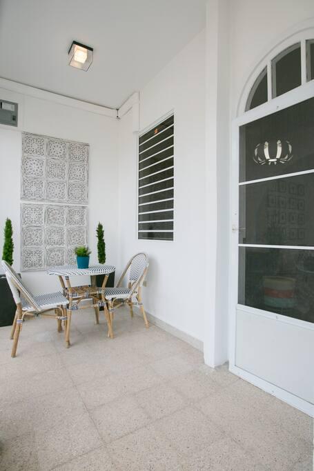 beautiful terrace ideal for enjoying a drink