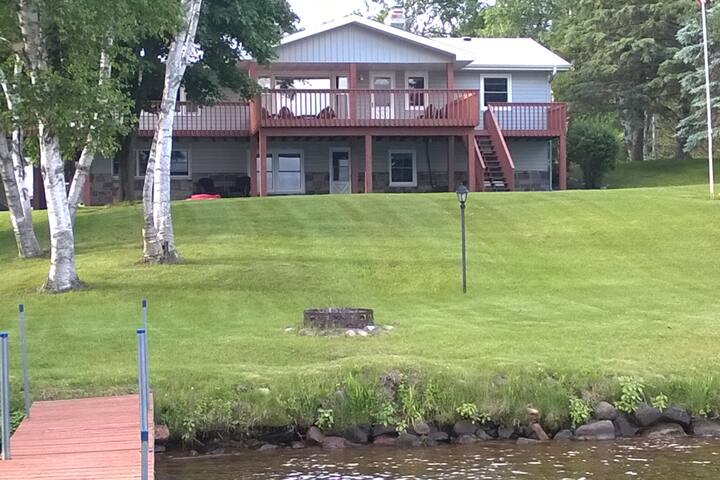 Large Family Cabin- Balsam Lake