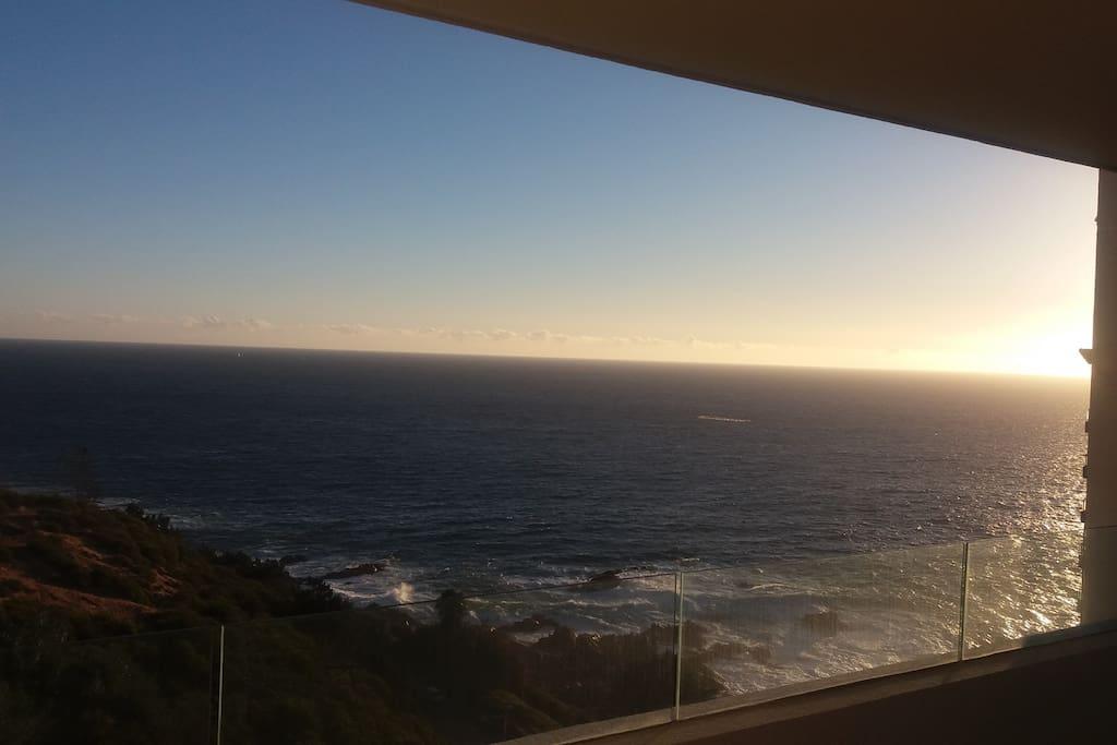 Vista mar desde terraza