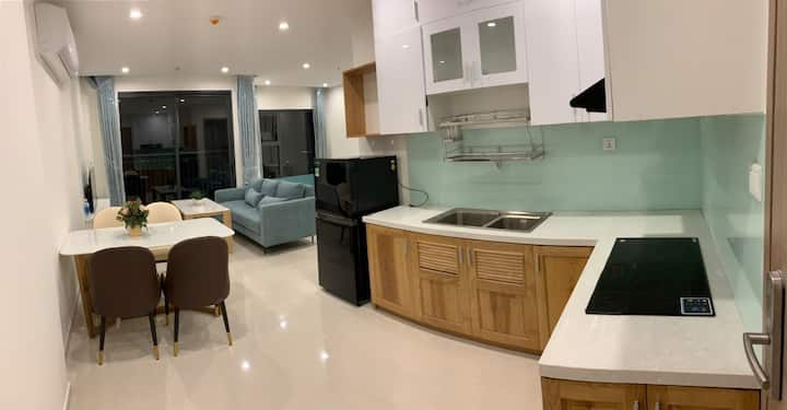Vinhomes grand park 2BR*.Fully furnished&utilities
