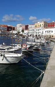 Menorca, Es Castell, Cales Fonts, Puerto de Maó - Apartment