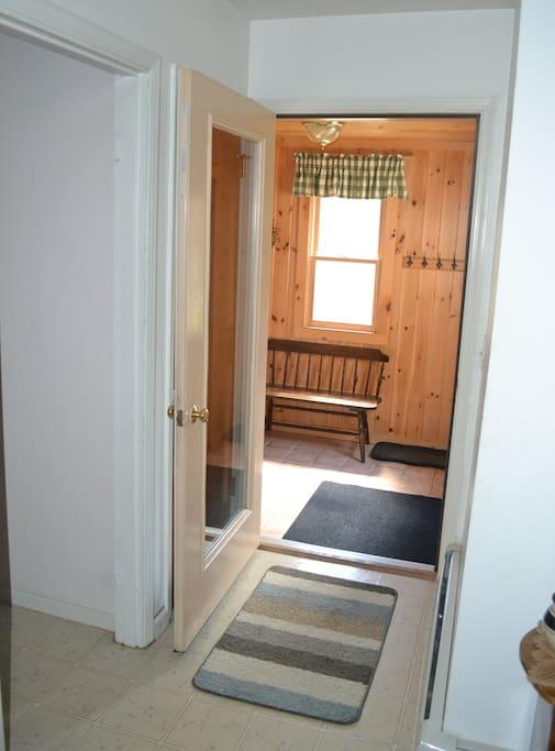 Entrance mudroom