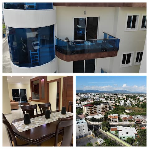 New Condo w/private parking,Balcony,AC Units/WiFi