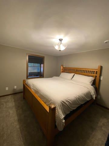 Bedroom # 3 / King (downstairs)