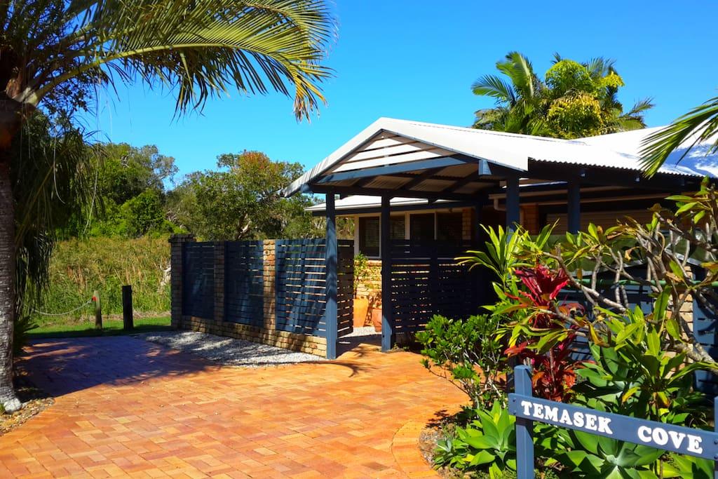 Fantastic location Temasek Cove at beautiful Clarkes Beach