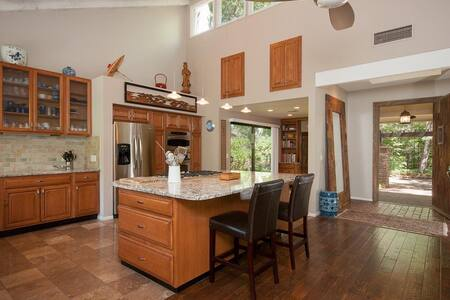 Sedona island retreat