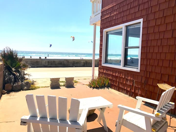 OCEANFRONT Beach House directly on the Boardwalk