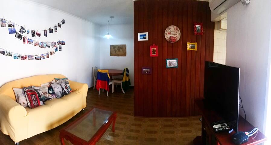 Adorable private room close to Galeao airport - Rio de Janeiro