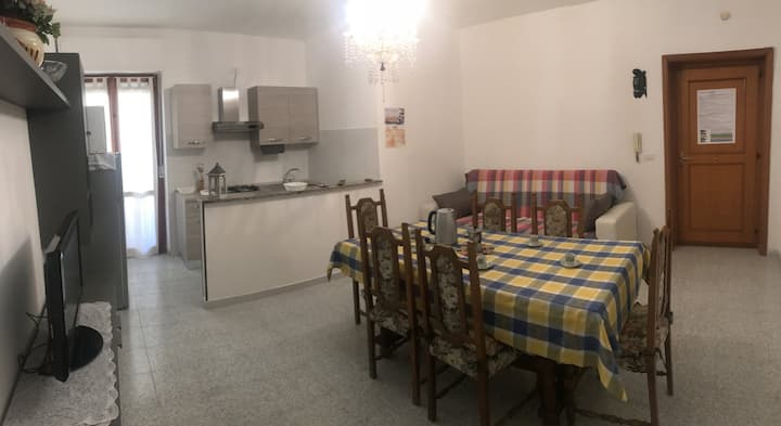 """Three room apartment 250 meters from the sea """"Mormora"""""""