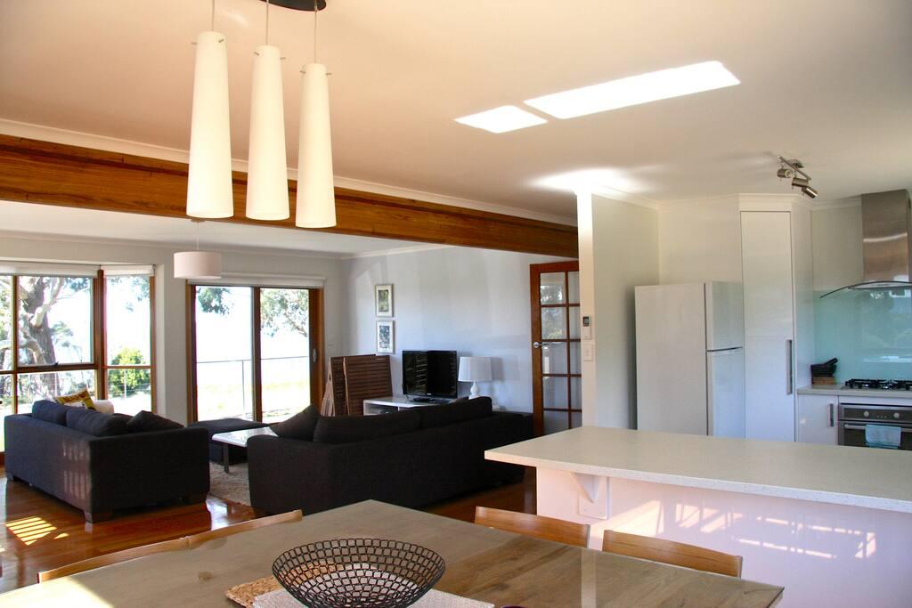 Upper level Living Dining/Living Area